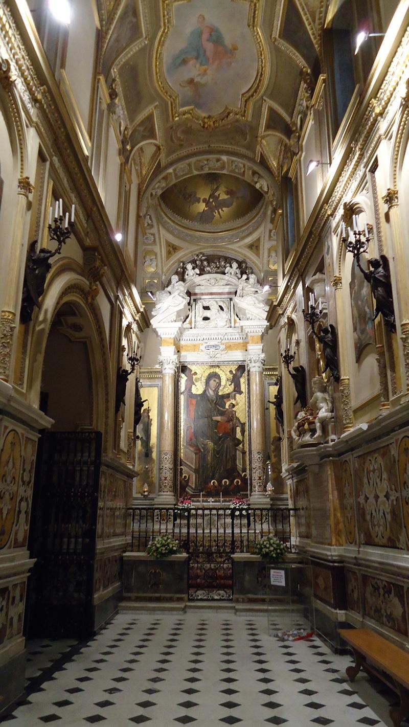 Il Santuario di Montevergine la basilica antica