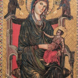 Icona in legno della Madonna di Montevergine