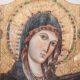 icona ricurva in legno della Madonna di Montevergine